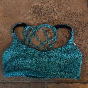 Lululemon free to be sports bra size 8. Worn once